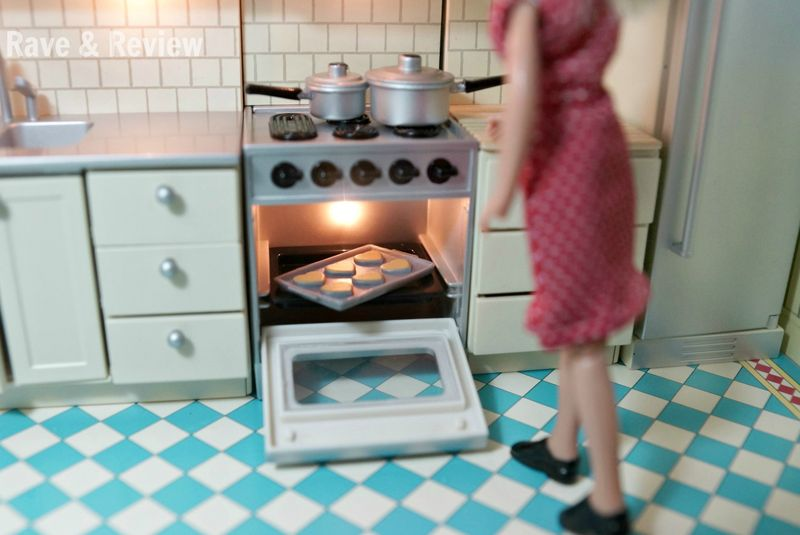 Lundby open oven